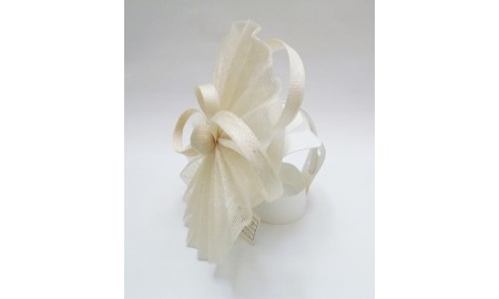 Jane Anne Designs Ivory Fascinator