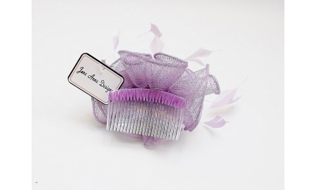 Jane Anne Designs Lilac Fascinator