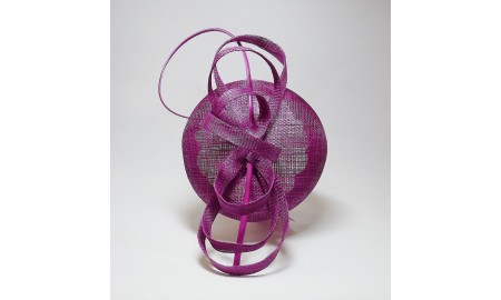 Jane Anne Designs - Magenta Fascinator