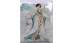 Maranda Ti Mi Torch - Handy Handbag Torch - Butterfly Silk Kimono