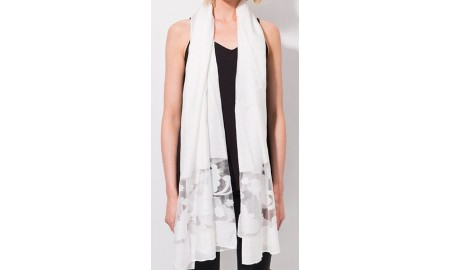 Pia Rossini Antonia Scarf - White