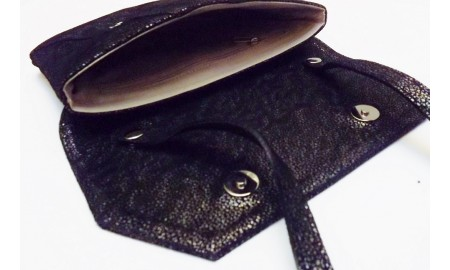 Granite Black Handbag