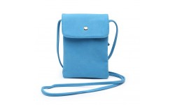 Navy Inc Small Across Body Bag - Bright Blue