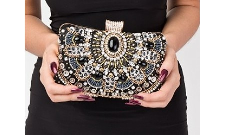 Pia Rossini Jewels Clutch Bag