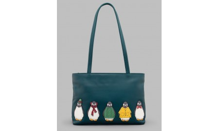 Yoshi Chilly Chums Leather Shoulder Bag