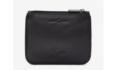 Y by Yoshi Arctic Leather Zip Top Purse