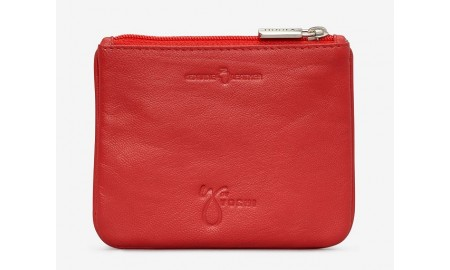 Y By Yoshi Bake Off Leather Zip Top Purse