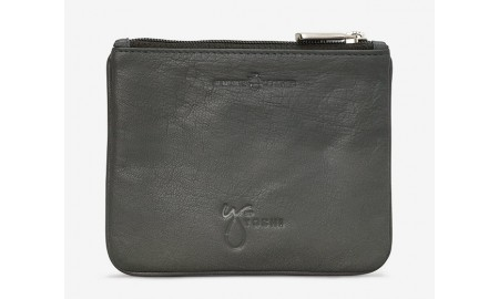 Y by Yoshi Owl & Pussycat Leather Zip Top Purse