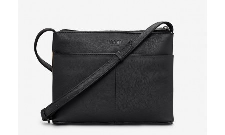 Yoshi Paris Cafe Leather Cross Body Bag