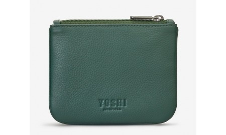 Y by Yoshi Leather Zip Top Scarecrow Purse