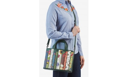 Yoshi Green Fingers Bookworm Leather Multi-way Grab Bag