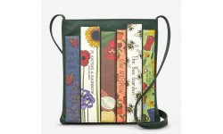 Yoshi Green Fingers Bookworm Leather Cross Body Bag