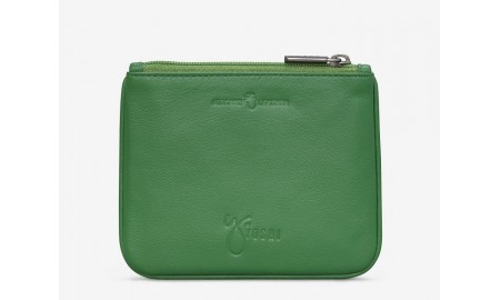 Y by Yoshi Leather Zip Top Family of Ducks Purse