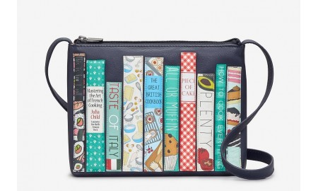 Yoshi Cook Bookworm Parker Leather Cross Body Bag