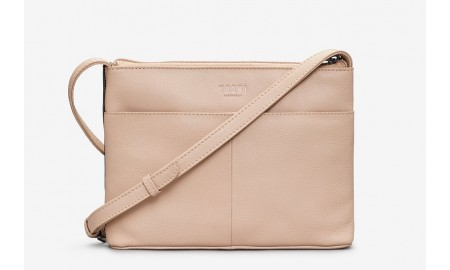 Yoshi Sakura Leather Cross Body Bag
