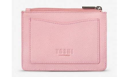 Yoshi Ivy Boutique Leather Zip Top Purse