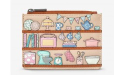 Yoshi Perfect Pantry Zip Top Leather Purse
