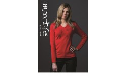 Marble Red Star Jumper