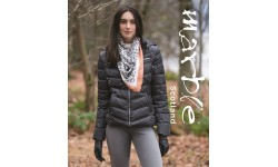 Marble Dark Grey Padded Coat