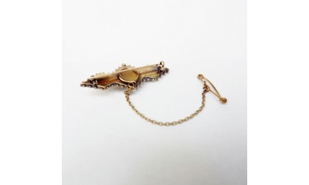 Antique Bar Brooch