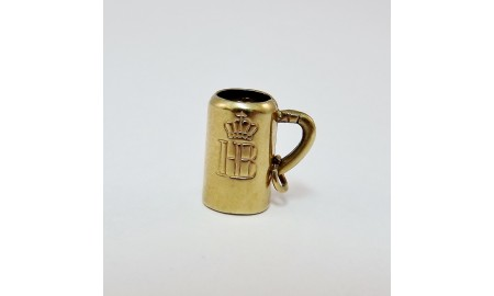 Pre-owned 9ct Gold Tankard Charm