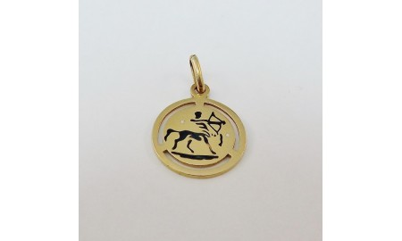 Pre-owned 18ct Gold Sagittarius Charm