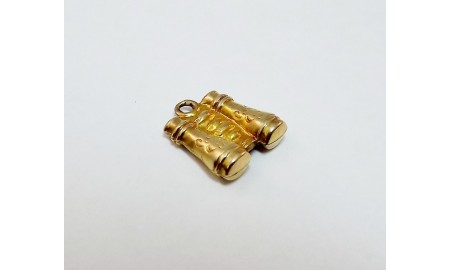 Pre-owned 9ct Gold Binoculars Charm