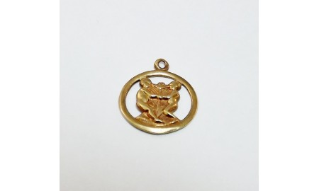 Pre-owned 9ct Gold Gemini Charm