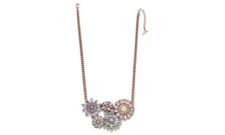 Fiorelli Costume Jewellery - Crystal Flower Necklace