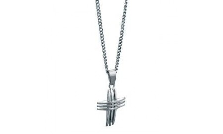 Fred Bennett SS Cross Pendant