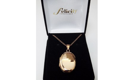 9ct Rose Gold Locket