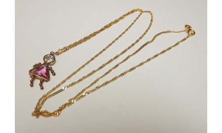 Pre-owned 14ct Gold Doll Pendant