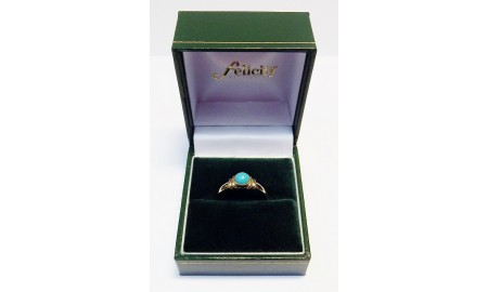 9ct Gold Turquoise Ring