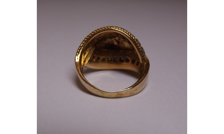 Pre-owned 18ct Gold Diamond Dress Ring