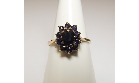 Pre-owned 9ct Gold Dress Ring