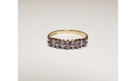 Pre-owned 9ct Gold Eternity Style Ring