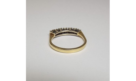 Pre-owned 18ct Gold Diamond Ring