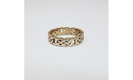 9ct Gold Celtic Knot Ring