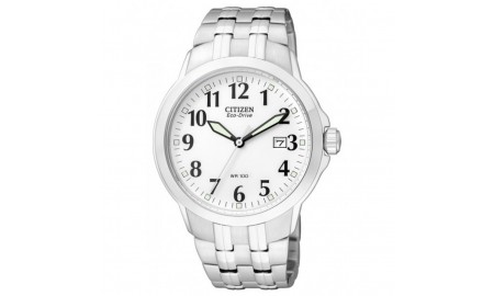 Citizen Eco-Drive Mens Stainless Steel Watch