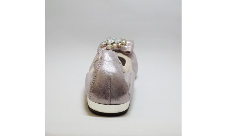 Gamis Collection Metallic Pink Ballet Pump