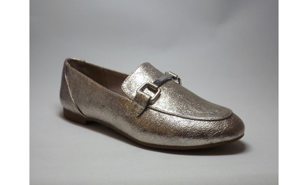 Marco Tozzi Rose Metallic Loafer