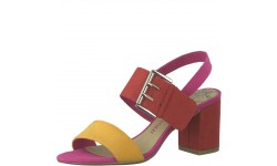 Marco Tozzi Red Comb Sandal
