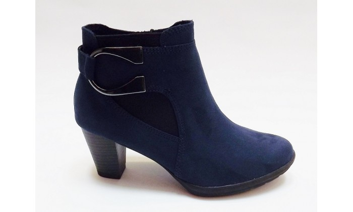 Marco tozzi navy blue ankle boots