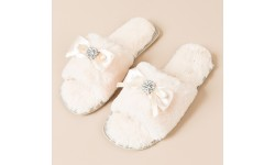 Pia Rossini Josie Slippers - Almond