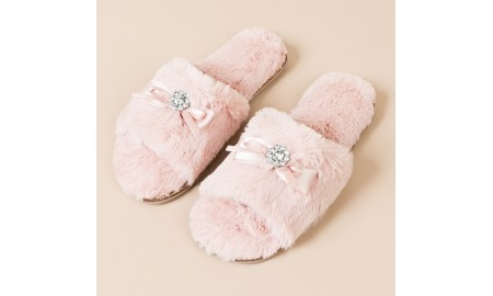Pia Rossini Josie Slippers - Blush