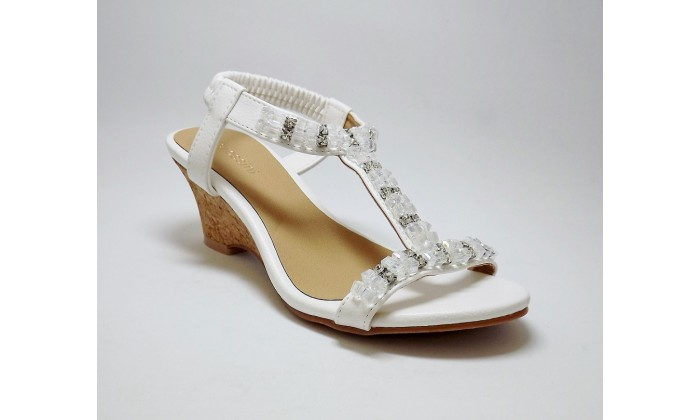 f6a35e873f76 Pia Rossini Arielle Sandals - White