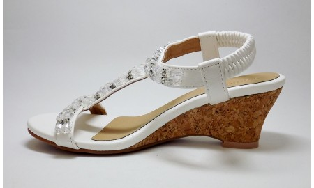 Pia Rossini Arielle Sandals - White