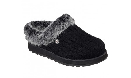 Skechers - Bobs Keepsakes - Ice Angel Slippers - Black