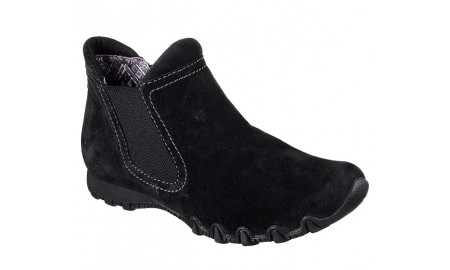 Skechers Bikers - Londoner Ankle Boot - Black