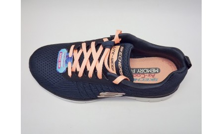 Skechers Flex appeal 2.0 - Break Free - Charcoal